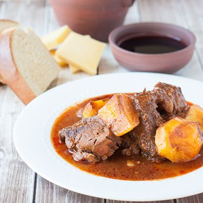 Azores Beef Stew with Potatoes (Molha de Carne)                                                                                                                                                                                 More
