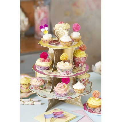 truly scrumptious - 3-laagse cake houder - 3