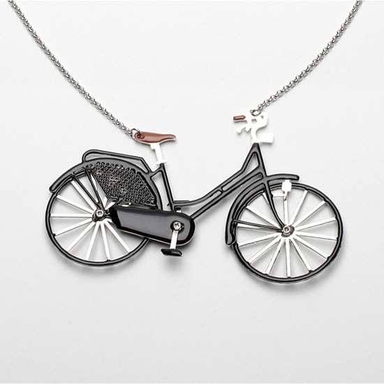 Fietsketting_Carbon dutch bycicle necklace