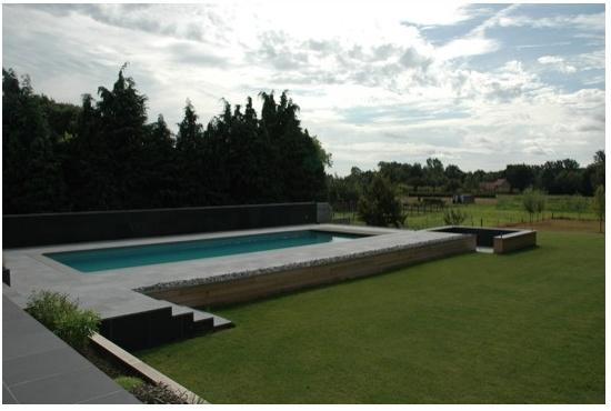 122 beste afbeeldingen over tuinhuizen tuinaanleg op pinterest zwembad huizen sauna 39 s en tuin - Ontwerp zwembad meubels ...
