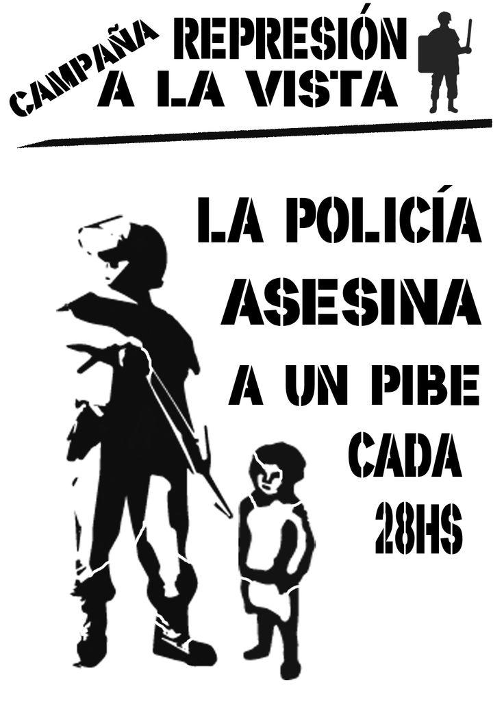 En Argentina, un pibe cada 28hs es asesinado por la policia