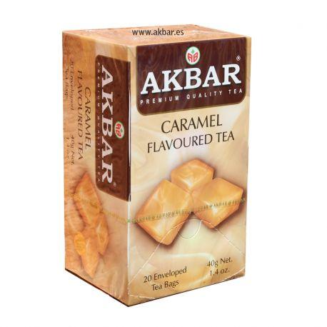 Té negro Akbar  con sabor a caramelo