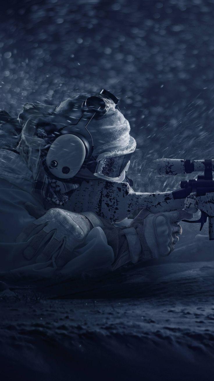 Verschiedenes Tom Clancys Rainbow Six Siege Black Ice 8k
