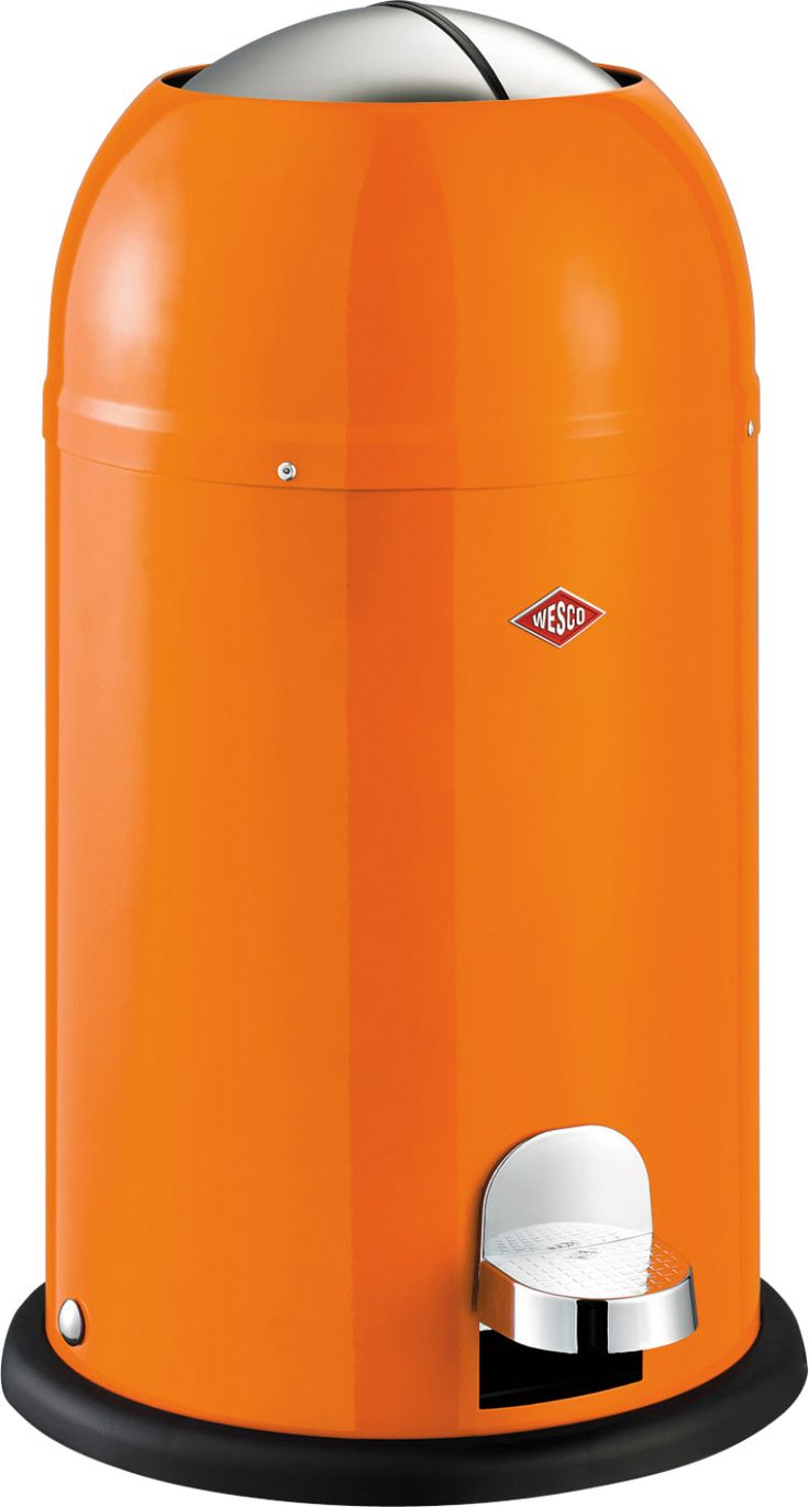 Kickmaster Junior 3.5 Gallon Step-On Steel Trash Can