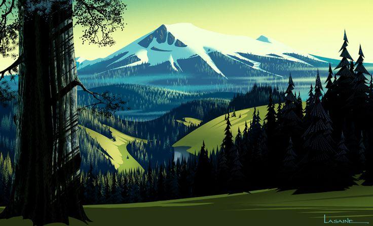 Open Season (concept art) | Illustrator: Paul Lasaine