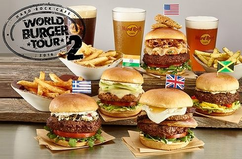 世界旅行気分!? 「ハードロックカフェ」のワールドバーガーツアーへGO