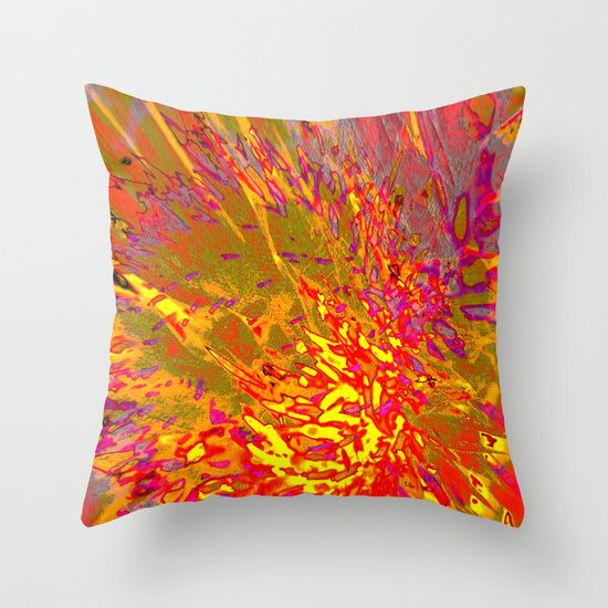 SOLD ! WHAM Throw Pillow by Mimulux | Society6 | artbymimulux showcase