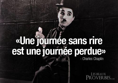 Les Beaux Proverbes – Proverbes, citations et pensées positives » » Une journée sans rire…