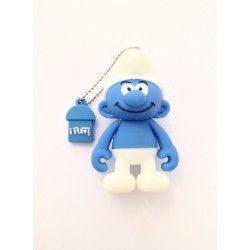 Chiavetta USB FORZUTO 4GB I Puffi