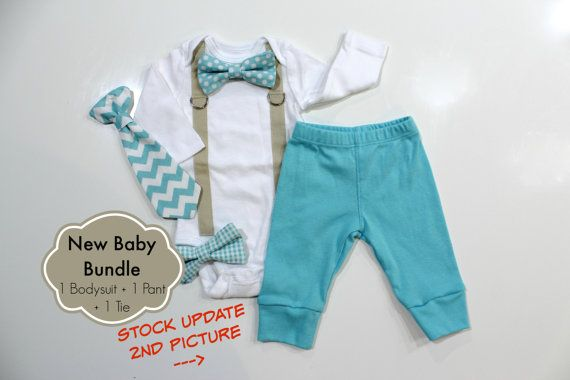 This may end up being baby boy's coming home outfit :) Baby Boy Coming Home Outfit. Newborn hospital by CuddleSleepDream