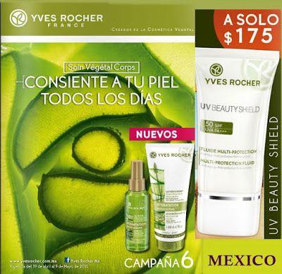 Catalogo de Cosmetica Yves Rocher Campaña 6 2016 - Mexico. Conoce los Regalos por el Dia del Maestro y las ofertas de campaña. #catalogoyvesrocher