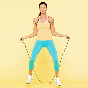 Fight Fat in 15 Minutes - jump rope workout