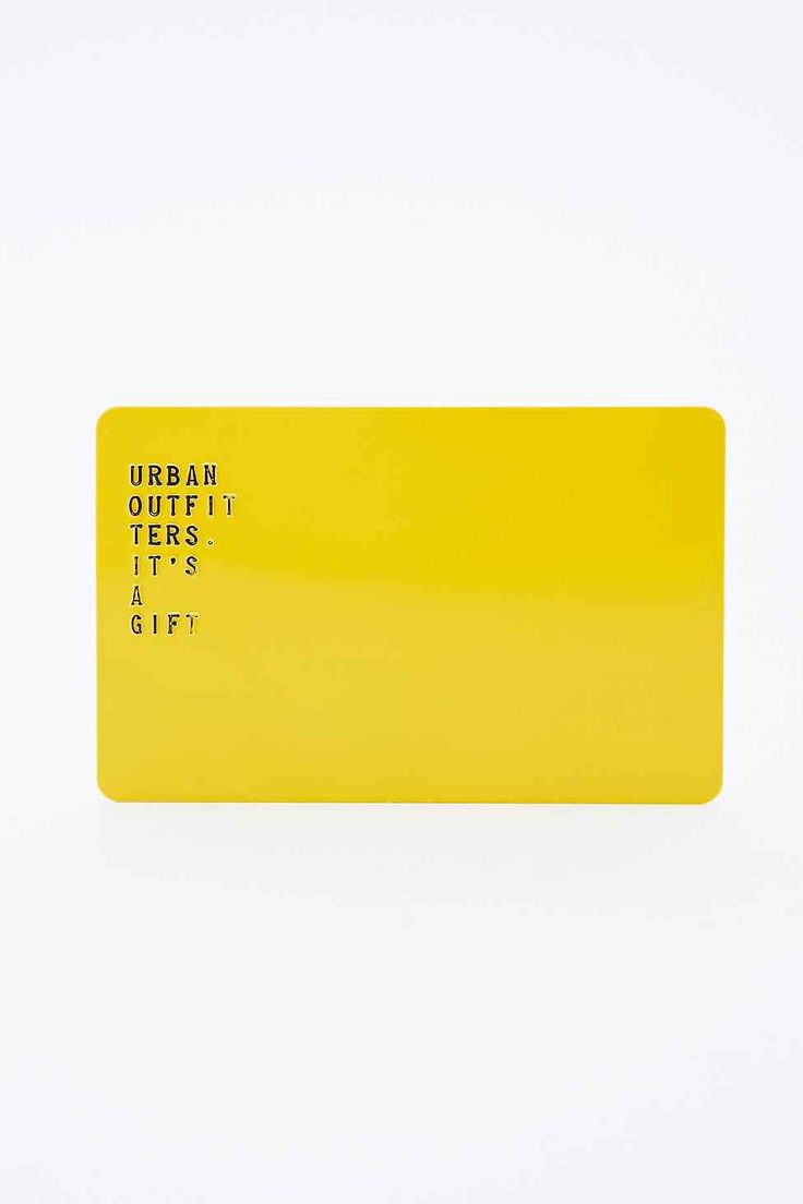 Redeemable at skuleaswiru.cf and in any of our stores in the US or Canada, UO Gift Cards are available in denominations of $ $1, Select a dollar amount above and we'll pick one of five assorted UO Gift Card designs for you.5/5(3).