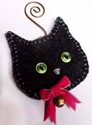 Image result for diy cat ornaments