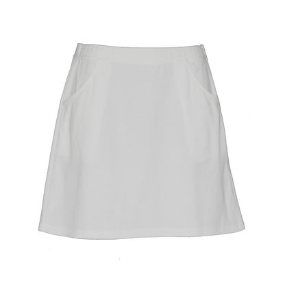 Cute white skirt. Lady golfwear specialising in ladies golf appareal