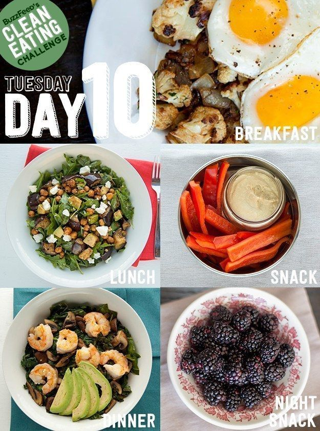 BuzzFeed's Clean Eating Challenge: Day 10