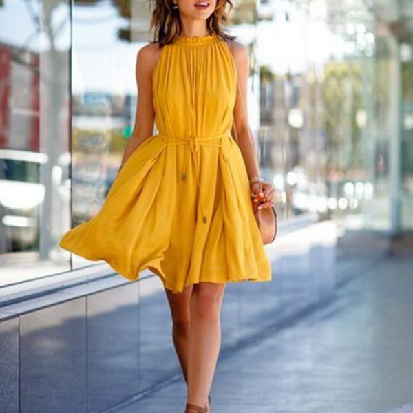 Lemon – Vintage Yellow Dress
