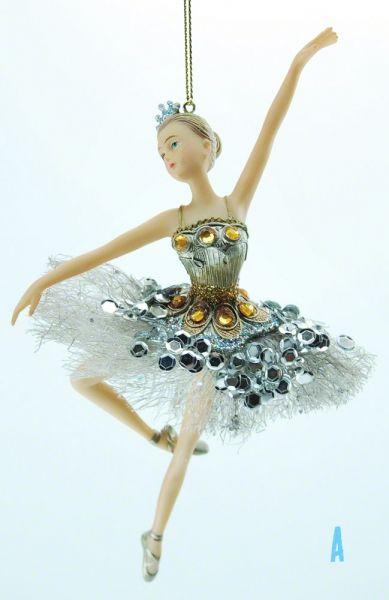 Goodwill Tull Ballerina gold Engel Weihnachtsschmuck Christbaumschmuck TR29083