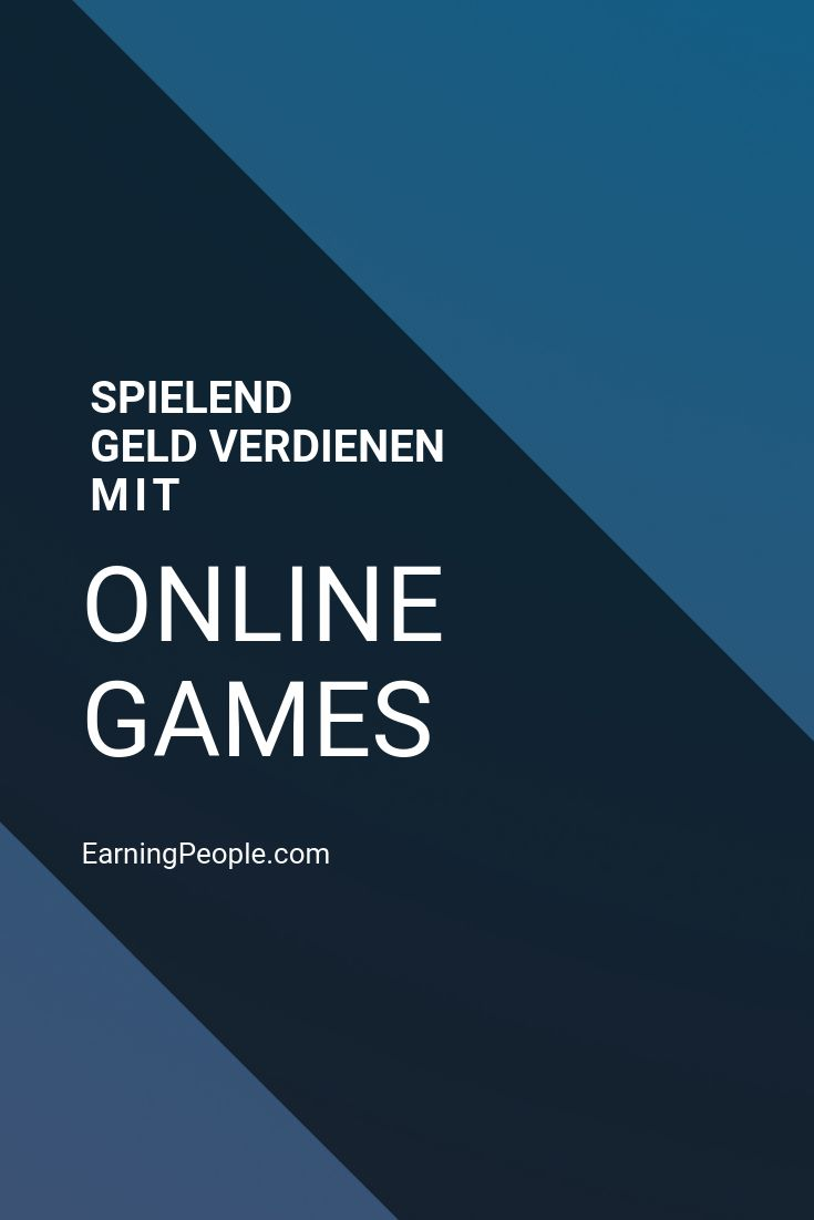 Geld verdienen beim Games spielen – Christian Sterr