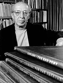 """Composer Aaron Copland was born in Brooklyn of Lithuanian Jewish descent,  on November 14, 1900. Before emigrating from Russia to the United States, Copland's father, Harris Morris Copland, Anglicized his surname """"Kaplan"""" to """"Copland""""."""