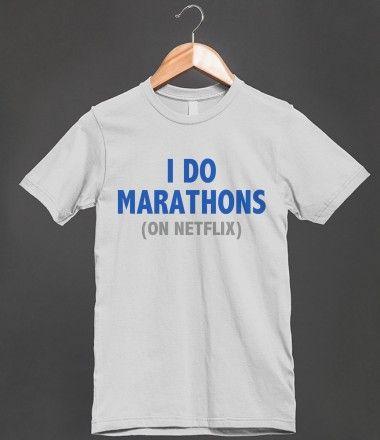 I DO MARATHONS (ON NETFLIX) - BLUE