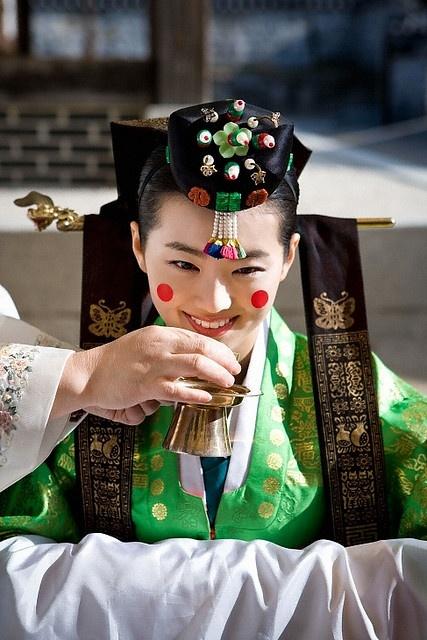 korea_혼례식,전통혼례,신부