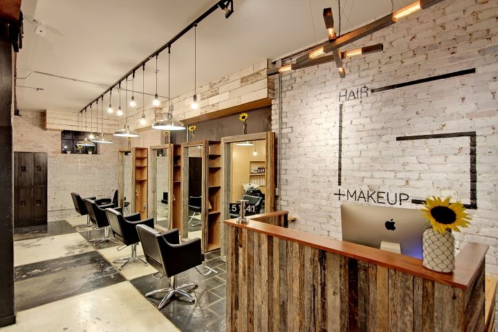 From a 150-year-old carriage house to a beautiful modern-industrial designed salon that is filled with representations of the location's backstory.