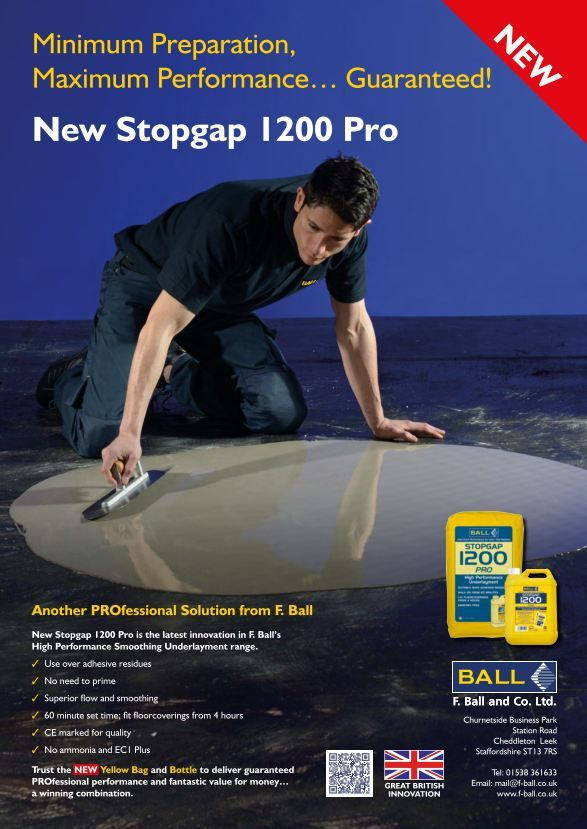 new Stopgap 1200 Pro from F. Ball
