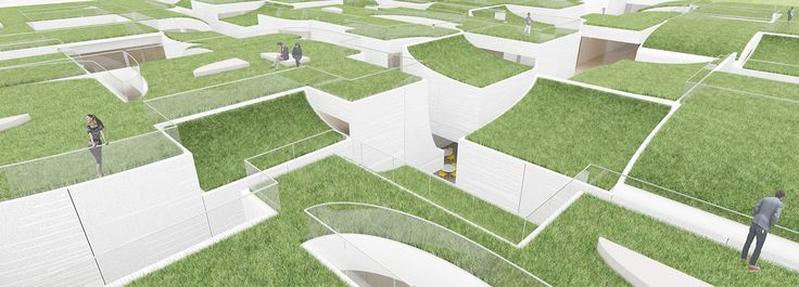 hou de sousa + archotus' national museum of world writing proposed as songdo cultural landmark