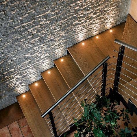 Iluminação maravilhosa da escada – trazendo magia e magia para sua casa   – Häuschen