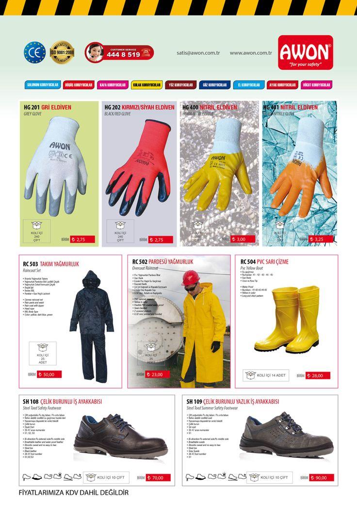 www.awon.com.tr  Product Catalogue 2015