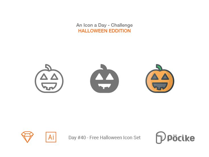 Icon challenge day 40 free halloween icon set