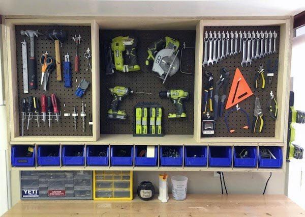 Top 80 Besten Werkzeug Speicher Ideen Organisiert Garage Designs Deutsch Style In 2020 Tool Storage Diy Tool Storage Cabinets Diy Projects Plans
