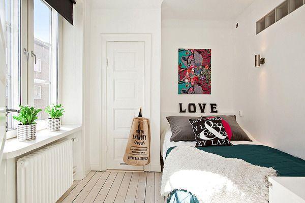 Фотография: Детская в стиле Скандинавский, Спальня, Декор интерьера, Интерьер комнат, Декор, маленькая комната, красивая спальня, стильная спальня, оформление спальни, правила оформления спальни – фото на InMyRoom.ru