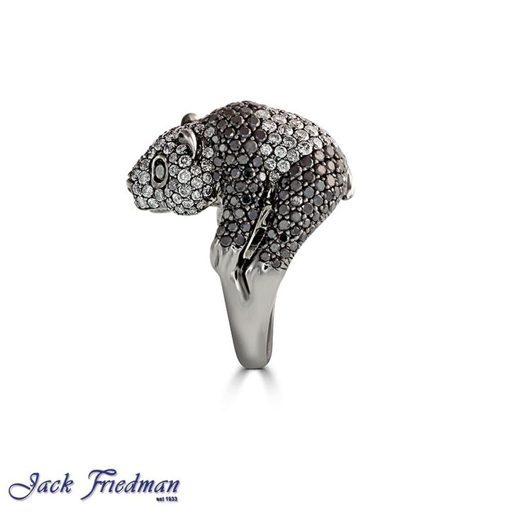 Panda with black and white diamonds jackfriedman.co.za