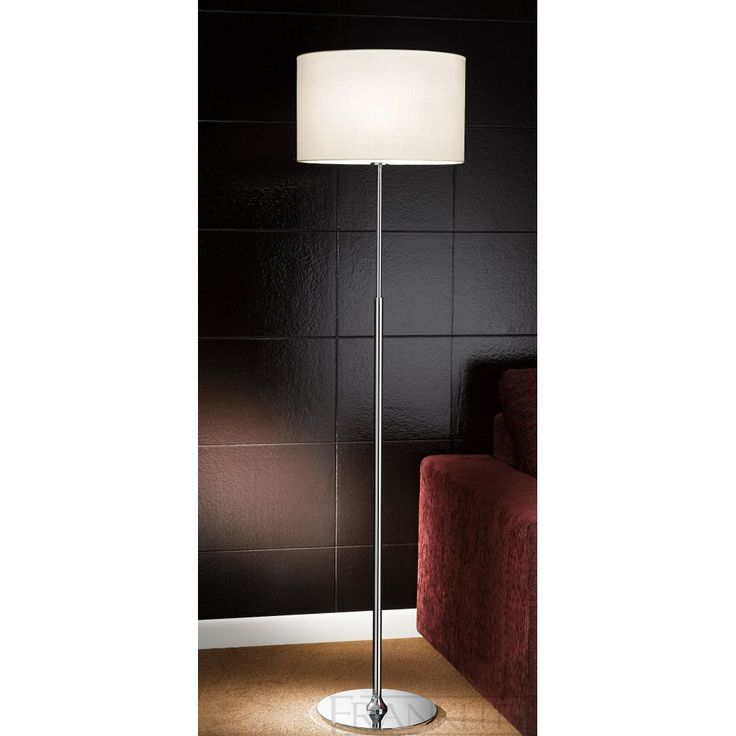 8 best floor lamps images on pinterest standard lamps floor franklite sl1459894 chrome floor lamp with rectangular drum shade mozeypictures Choice Image