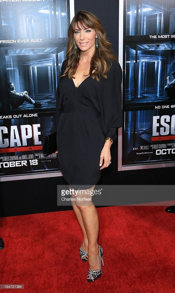 Jennifer Flavin attends the 'Escape Plan' premiere at Regal E-Walk on October 15, 2013 in New York City.