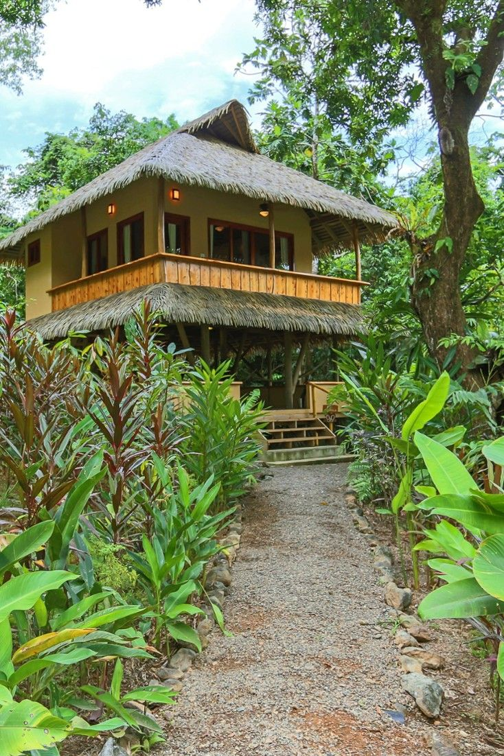 The cabanas were constructed with recycled materials and reforested wood. #Jetsetter