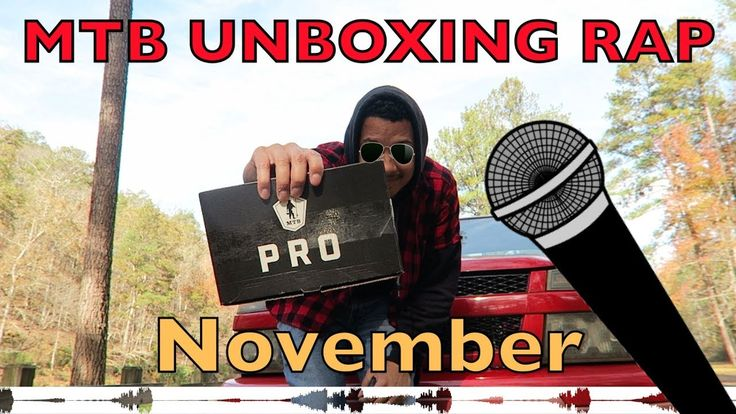 Mystery Tackle Box Unboxing Rap November 2017