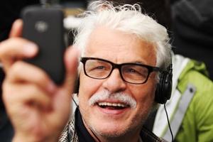 Il regista Michele Placido.#ilcecchino