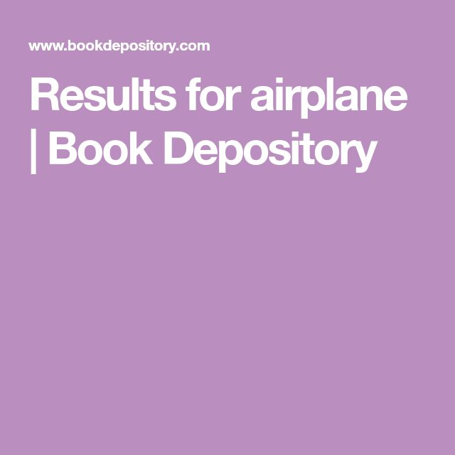 Results for airplane | Book Depository