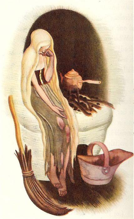 Cinderella by Gustaf Tenggren