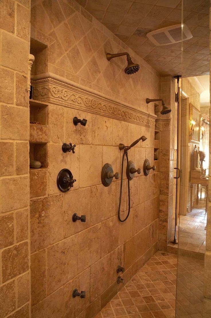 Contemporary bathroom philadelphia by abruzzi stone amp flooring - Awesome Walk In Shower