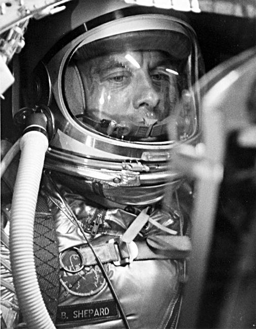 Mercury astronaut Alan Shepard | Man In Space | Pinterest