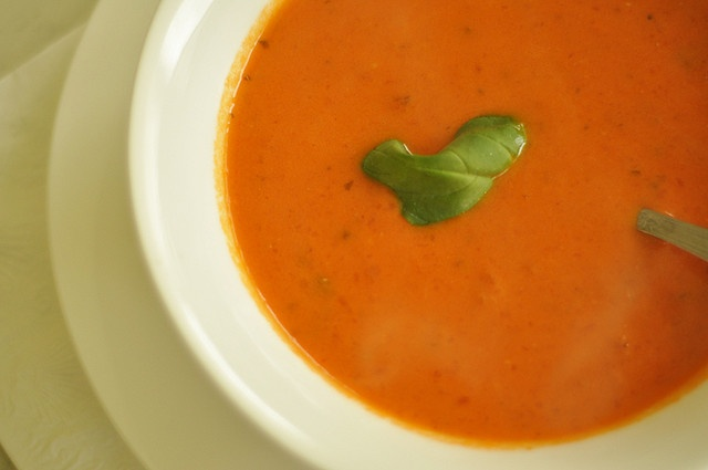 spicy tomato soup | Recipes | Pinterest