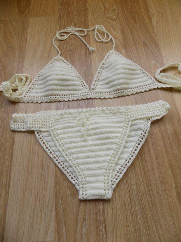 Crochet Bikini,Crochet Swimwear,crochet swimsuits,crochet bath suits,Brazilian Bikini,Cheeky bikini,crochet bikini set,cream bikini,gypsy