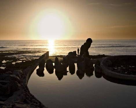 http://www.webtenerife.co.uk/places-interest/beaches/?tab=1&page-index=3  Atardecer en la playa de El Guincho, Tenerife, Islas Canarias // Sunset at the beach El Guincho, Tenerife, Canary Islands // Sonnenuntergang am Strand El Guincho, Teneriffa, Kanarische Inseln  #visitTenerife