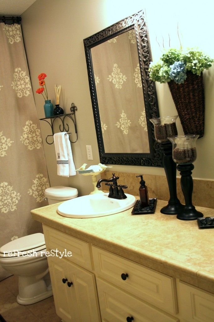 17 best images about oil rubbed bronze fixtures on for Oil rubbed bronze bathroom ideas
