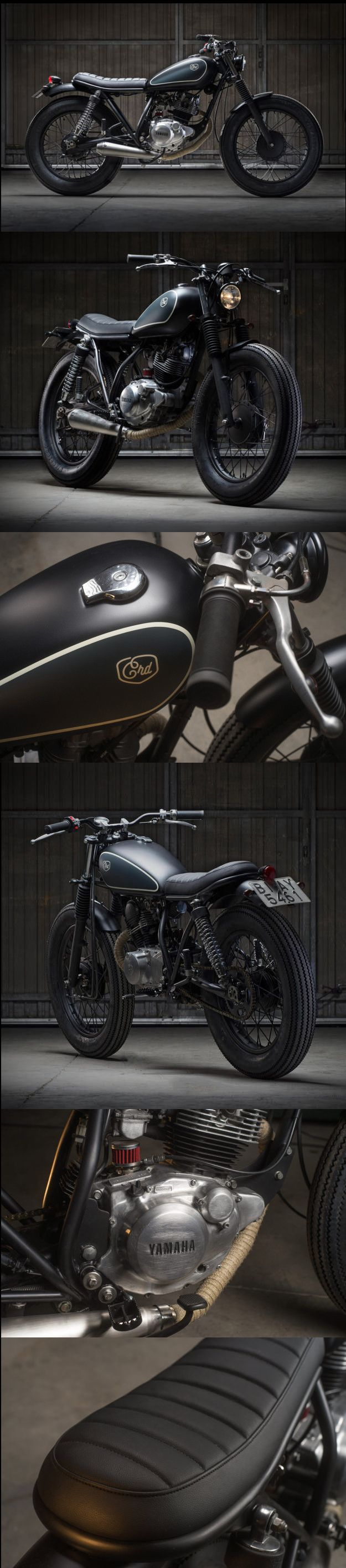 Yamaha SR125 Little Baby by Cafe Racer Dreams