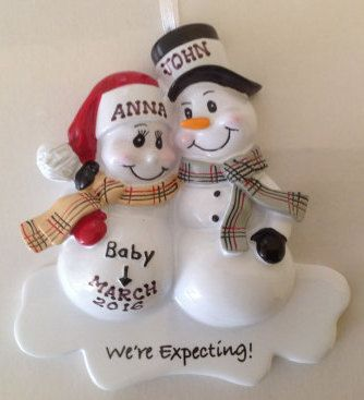 389 best Personalized Christmas Ornaments images on Pinterest